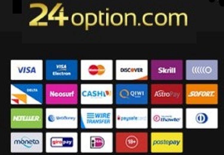 24Option Metodos de pago