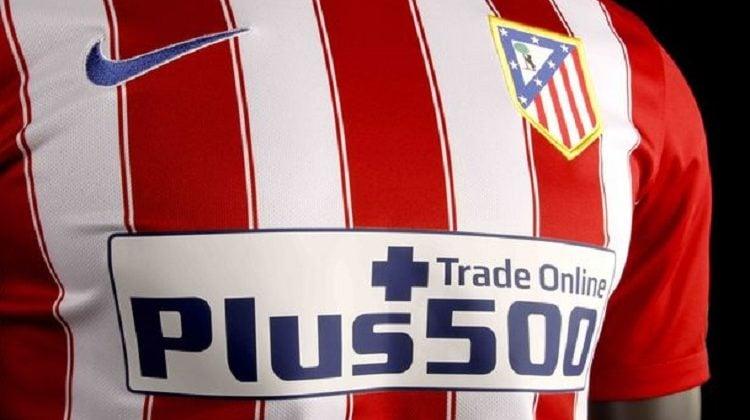 Plus500 patrocinador atlético de Madrid.