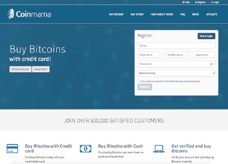 ¿Cómo comprar bitcoin en Coinmama?