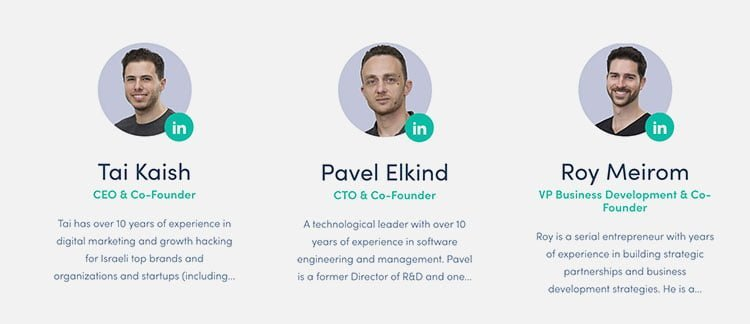 Fundadores Wemark ICO