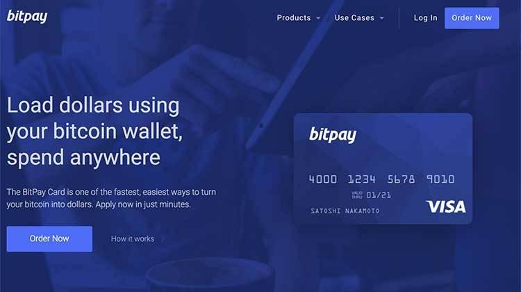 Tarjeta prepago Bitpay